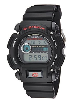 G-SHOCK DW9052-1V - water resistant didigtal watch