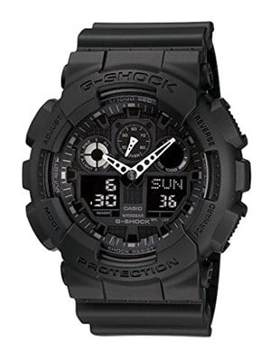 g-shock showing world time