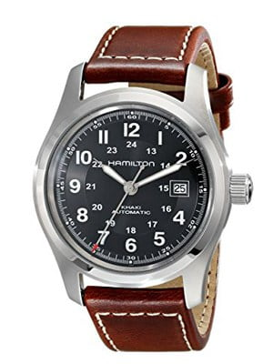 Hamilton Khaki Field - stainless steel and water resistant