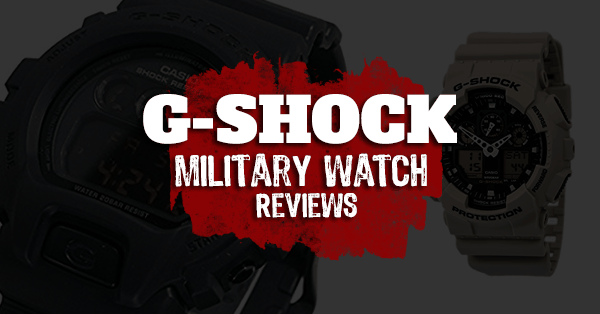 gshock military watch reviews
