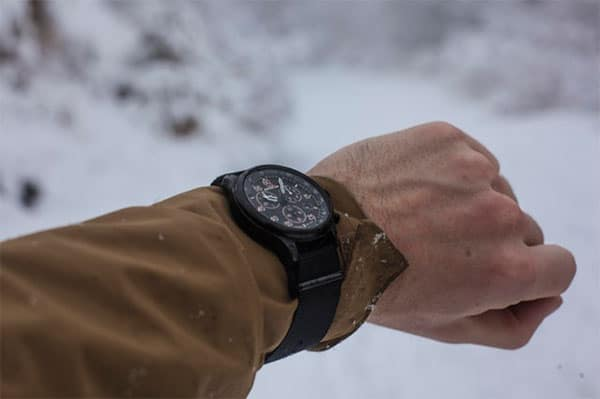 military watch for travel, hiking, and training.