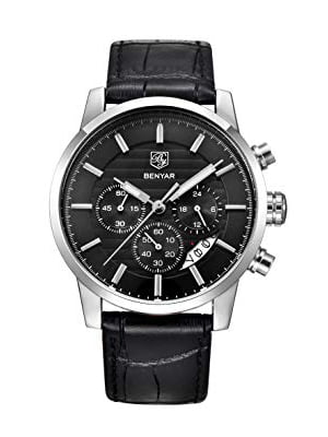 benyar chronograph wrist watch for men