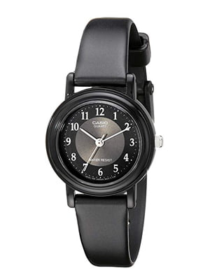 casio women's lq139a-1b3 black classic resin watch