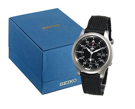 seiko 5 package inclusions